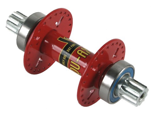 Hub 48 holes IsIs with bearing - red - art. 6013