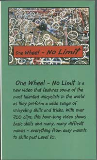 one wheel no limit VHS