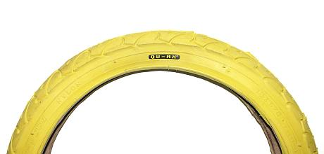 Qu-ax Tyre 16''x1.75'' yellow - art. 2049