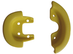 Qu-ax Yellow bumper for standard saddle - art. 2071