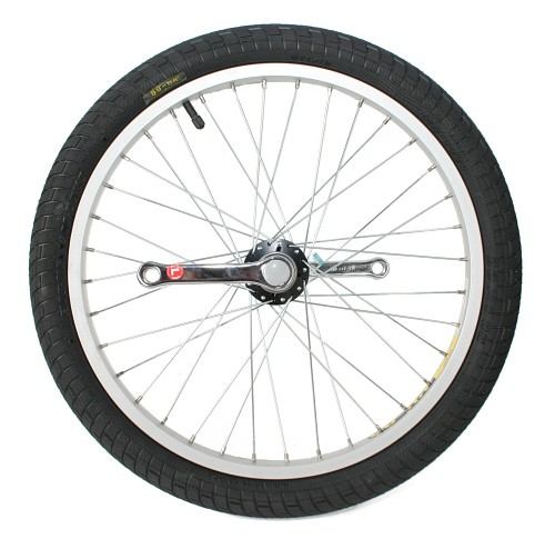 Wheelset, Qu-ax Luxe inc. tire and bearings - art. 2083